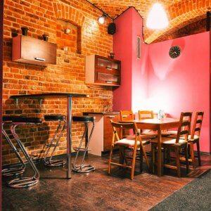 Wnętrze pubu - domówka