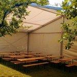 Namioty eventowe - impreza w plenerze