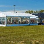Namioty eventowe w plenerze