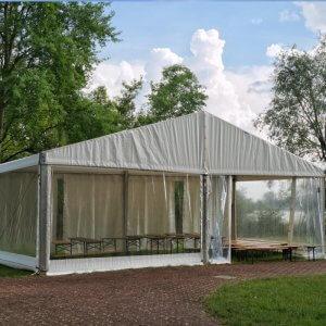 Namioty eventowe - na zewnątrz